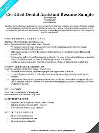 dental assistant resume templates resume templates for dental assistant no experience resume template