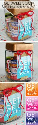 get well soon package get well soon gift in a jar happy go lucky