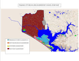 Panama City Map Bay District Schools Proposed Rezoning Maps