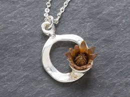 flower necklace images Centered necklace the grommet jpg