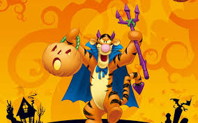 tigger winnie the pooh halloween disney hd wallpaper for desktop