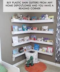 Bookshelves Home Depot by Rain Gutter Bookshelves Lowes Kids Rooms And Rain