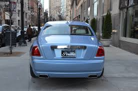 roll royce ghost blue 2013 rolls royce ghost stock r324aa for sale near chicago il