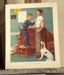 carefree days ahead norman rockwell norman rockwell
