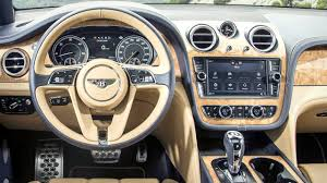 bentley suv 2017 2017 bentley bentayga interior youtube