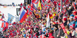 Different Flags In The World Biathlon World Cup Holmenkollen Oslo 15 17 18 March 2018