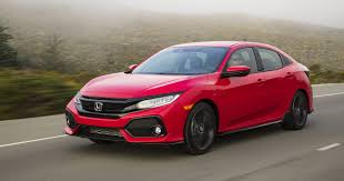 honda civic sporty hatchback spices up honda civic