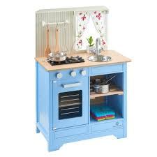 kinder spielküche spielküche für kinder lavandula aus holz creme blau musterkind