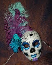 mardi gras skull mask mardi gras day of the dead mask mexican blue sugar my likes