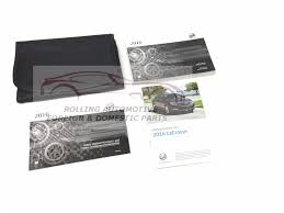 2016 buick lacrosse owners manual booklet w case new oem u2022 34 95