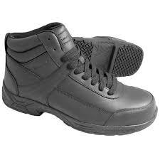 womens steel toe boots size 11 grip 1021 s size 11 wide width black steel toe non slip