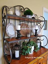 Bakers Rack With Wine Glass Holder Best 25 Bakers Rack Ideas On Pinterest Bakers Rack Decorating