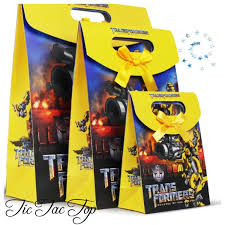 transformers party decorations lolly loot party bag party supplies