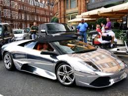 lamborghini murcielago roadster lp640 chrome painted lamborghini murcielago lp640 roadster shines in