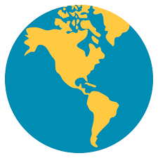 africa map emoji earth globe americas emoji for email sms id 1552
