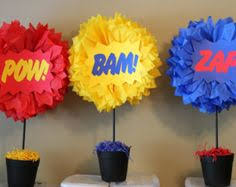 superhero themed birthday party and matching printables with a