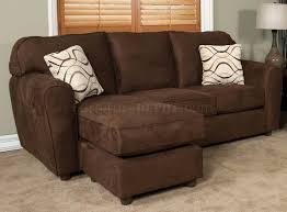 Apartment Size Loveseat Chocolate Fabric Modern Loveseat U0026 Sofa Set W Options