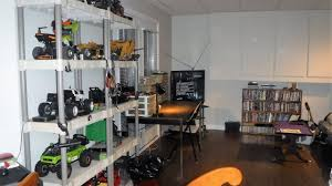 our new rc hobby room set up youtube