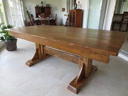 wooden dining tables what a gorgeous piece of wood turned into