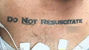 miami patient u0027s tattoo calls ethics into question daily mail online
