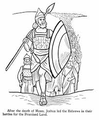 bible stories for toddlers coloring pages joshua bible story coloring page joshua was called upon to lead