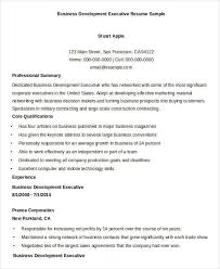 Business Resume Sample by Simple Business Resume Templates 19 Free Word Pdf Documents