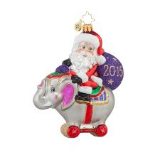 christopher radko ornaments 2015 radko circus ride santa ornament