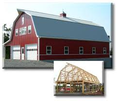 Hip Roof Barn Plans Best 25 Pole Barn Construction Ideas Only On Pinterest Building