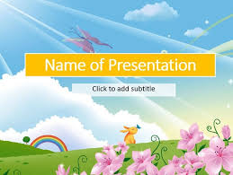 a fairy tale child u0027s template for presentation free powerpoint