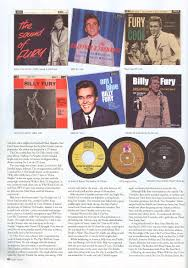 the official billy fury web site news