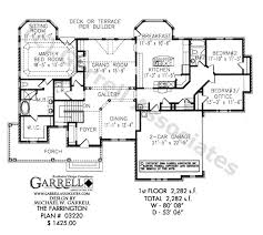 large ranch floor plans ranch house plans craftsman ranch with finished walkout basement