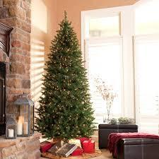 7ft christmas tree slim pre lit christmas tree uk 75 ft classic flocked virginia