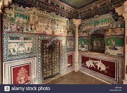 india rajasthan bundi chitrasala palace murals wall india rajasthan bundi chitrasala palace murals wall paintings miniature style