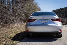 lexus is tail lights driving the 2014 lexus is lexus enthusiast