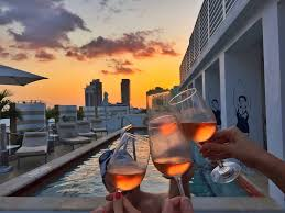 miami sense beach house to celebrate the stars with a rooftop