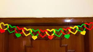paper door decor diy door hanging decoration