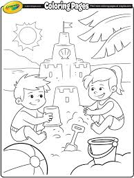 parts of the body coloring pages for preschool summer free coloring pages crayola com