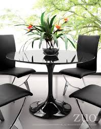 wilco tulip base dining table in black fiberglass wilco tulip base dining table in black fiberglass dining tables alan decor