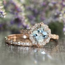 scalloped wedding band aquamarine wedding ideas collections