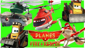 disney planes fire rescue 11 characters helicopters