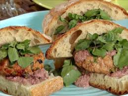 Backyard Burger Hours Grilled Tuna Burgers With Spicy Mayo Recipe Guy Fieri Food Network