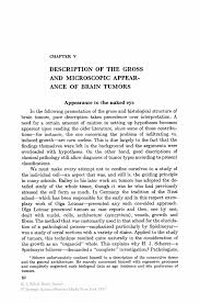 Description Description Of The Gross And Microscopic Appearance Of Brain