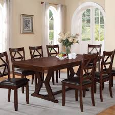 dining room parson dining chairs with expandable round dining