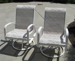 Patio Furniture Fabric Replacement by Customer Diy Slings