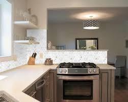 mosaic tiles kitchen backsplash of pearl shell mosaic hexagon seashell kitchen backsplash st064