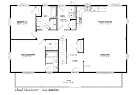 36 floor plans for ranch homes 24 x 80 12 x 20 house plans 28x48