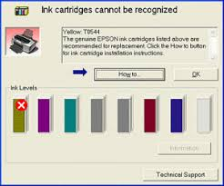 epson l replacement instructions epson inkjet printer rejecting printer cartridges try this