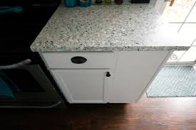 we have counter tops all of the details of our recycled glass fisher recycling pours the counter tops but does not install them we called and got quotes from several local places elizabeth gave us a long