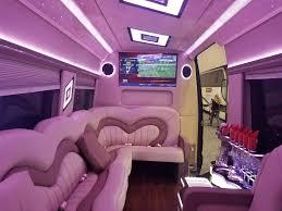 pink mercedes mercedes benz 3500 sprinter limo van