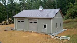 30x40x12 residential garage in bedford va rtw10005 superior
